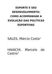 ESPORTE E SEU DESENVOLVIMENTO.doc