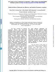 Pick et al_2009_Dual activities of odorants on olfactory and nuclear hormone receptors.pdf