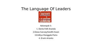 Chapter 3. The Language Of Leaders.pptx