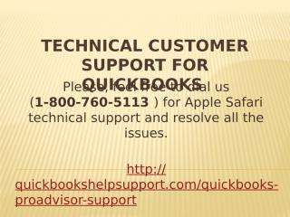 Technical Customer Support for QuickBooks.pptx