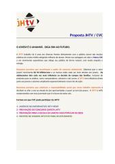 Proposta JHTV CVC.doc