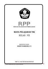 RPP Kelas 7.doc