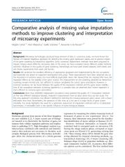 Celton et al_2010_Comparative analysis of missing value imputation methods to improve clustering.pdf