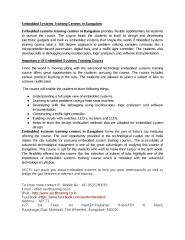Placemetn oriented EMBEDDED SYSTEMS TRAINING CENTRES IN BANGALORE.pdf