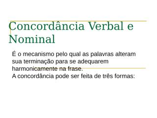 concordância verbal e nominal.ppt
