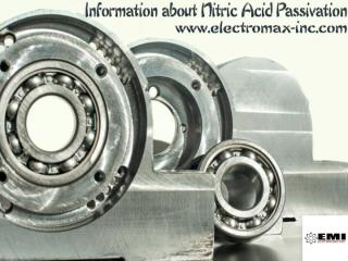 Information about Nitric Acid Passivation.pdf