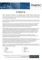 Legacy Datasheet.docx
