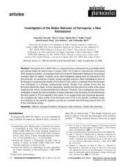 Chavain et al_2008_Investigation of the Redox Behavior of Ferroquine, a New Antimalarial.pdf