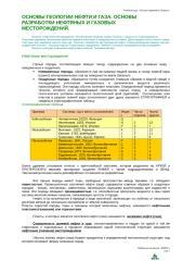 Основы геологии нефти. Разработка нефтяных месторождений.doc