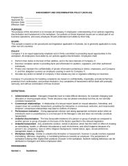 Harassment and Discrimination Policy (non-US).doc
