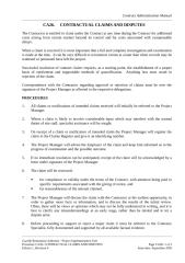 CA26-CONTRACTUAL CLAIMS AND DISPUTES.doc