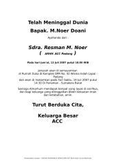 Berita Duka Cita non Muslim.doc