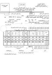 شهادة الصف السادس للطباعة الدور الاول.doc