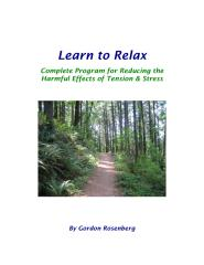 Learn To Relax - Relaxation, A Path To Healing.pdf