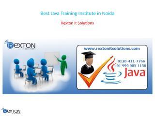 Best Java Training Institute in Noida.pptx